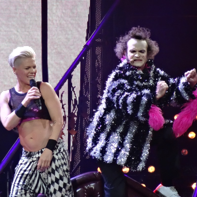 P!NK and Jimmy