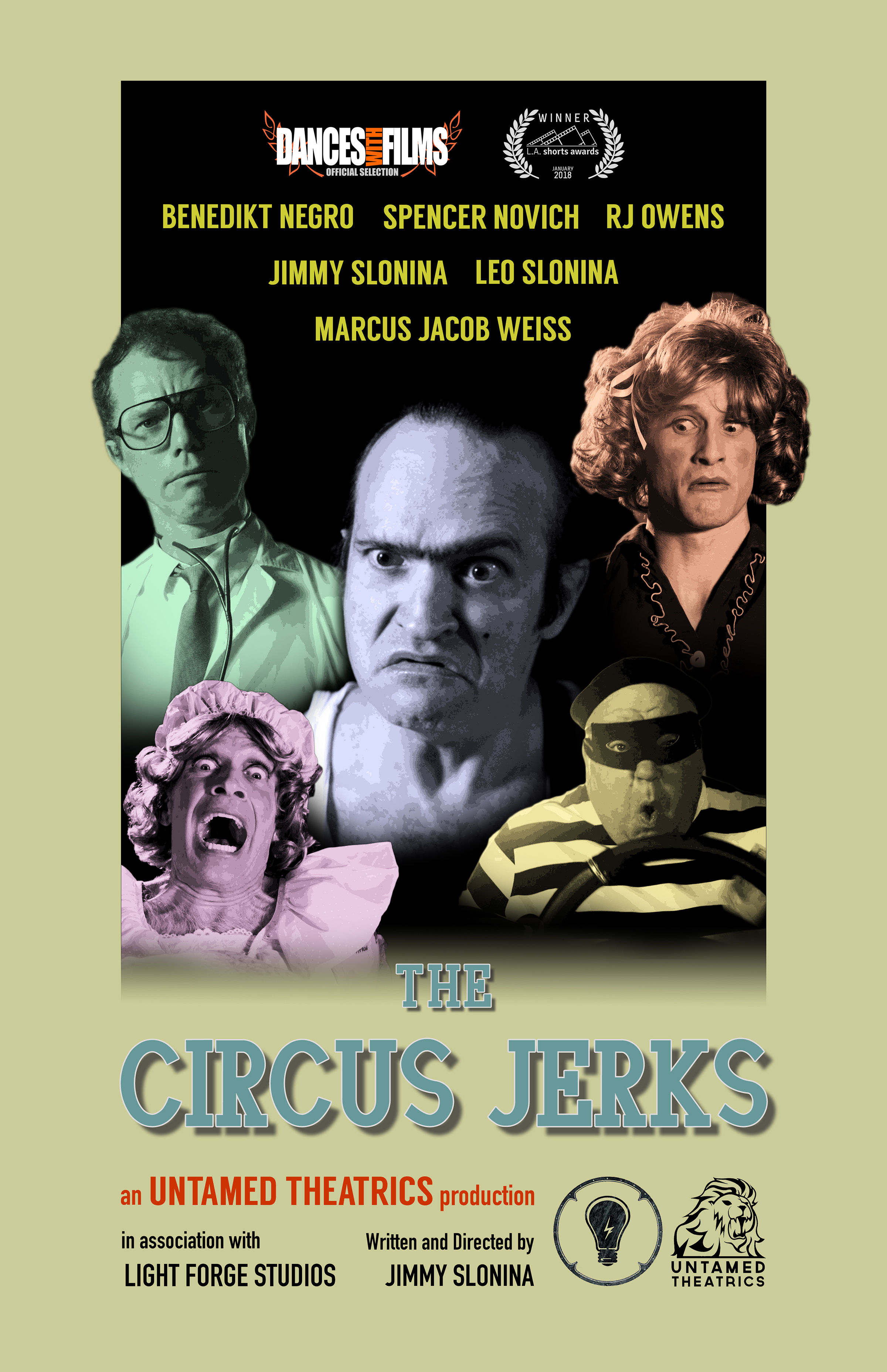 The Circus Jerks Poster